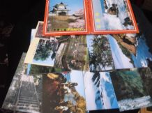COLLECTION 24 GLOSS COLOUR POSTCARDS IN WALLET ALL NEW HOKURIKU DISTRICT